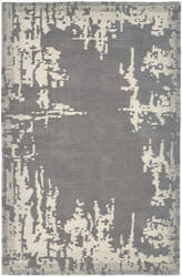 Nourison Symmetry Smm02 Grey - Beige Area Rug