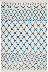 Nourison Kamala Ds500 White Blue Area Rug