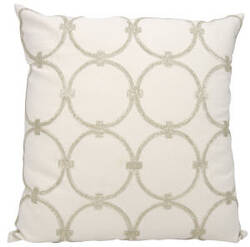 Nourison Luminescence Pillow E0953 Silver