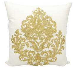 Nourison Luminescence Pillow E0998 Gold