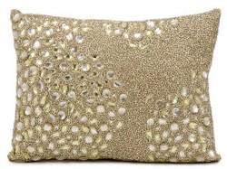Nourison Luminescence Pillow E5000 Beige