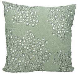 Nourison Luminescence Pillow E5000 Celadon