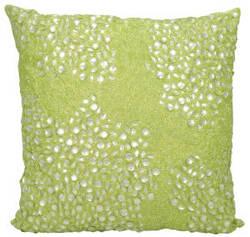 Nourison Luminescence Pillow E5000 Celery