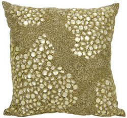 Nourison Luminescence Pillow E5000 Light Gold