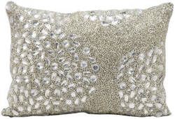 Nourison Pillows Luminescence E5000 Silver