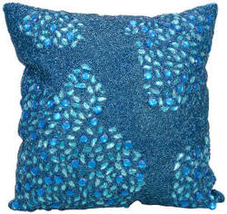 Nourison Luminescence Pillow E5000 Turquoise