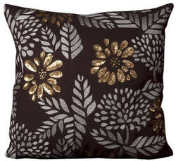 Nourison Pillows Luminescence E5159 Brown