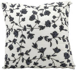 Nourison Pillows Luminescence E5280 Black - White