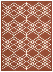 Nourison Enhance En002 Paprika Area Rug