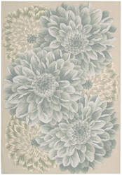 Nourison Fantasy FA-10 Light Green Area Rug