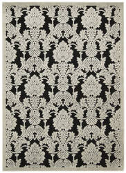 Nourison Graphic Illusions Gil03 Black Area Rug