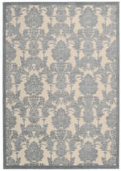 Nourison Graphic Illusions Gil03 Ivory - Light Blue Area Rug