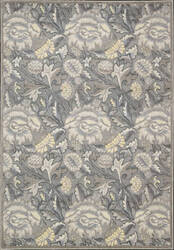 Nourison Graphic Illusions GIL-10 Grey Area Rug