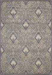 Nourison Graphic Illusions GIL-11 Grey Area Rug