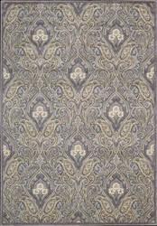 Nourison Graphic Illusions GIL-11 Grey Area Rug