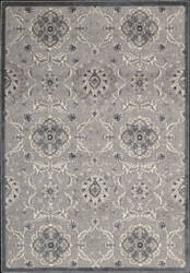 Nourison Graphic Illusions GIL-12 Grey Area Rug