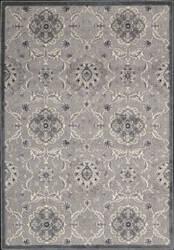 Nourison Graphic Illusions GIL-12 Grey Area Rug