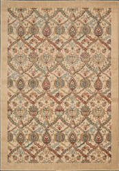 Nourison Graphic Illusions GIL-15 Light Gold Area Rug