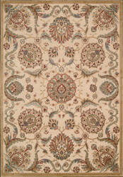 Nourison Graphic Illusions GIL-17 Beige Area Rug