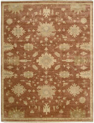 Nourison Grand Estate Gra03 Persimmon Area Rug