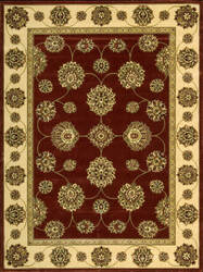 Nourison Golden Saga GS-09 Brick Area Rug