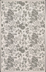 Nourison Country Heritage H-701 Ivory Green Area Rug