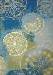 Nourison Home And Garden Rs092 Blue Area Rug