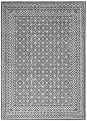 Nourison Palermo Pmr02 Charcoal - Silver Area Rug