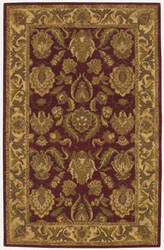 Nourison India House Ih01 Burgundy Area Rug