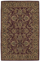 Nourison India House IH-17 Burgundy Area Rug