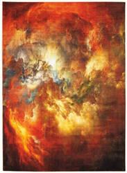 Nourison Le Reve Ler07 Red - Multicolor Area Rug