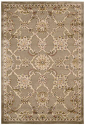 Kathy Ireland Ki03 Bel Air Buckingham Ki301 Brown Area Rug