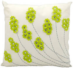 Nourison Pillows Outdoor L1098 Apple Green