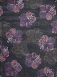 Nourison Lakeside LAK02 Ink Plum Area Rug