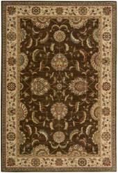 Nourison Living Treasures LI-04 Brown Area Rug