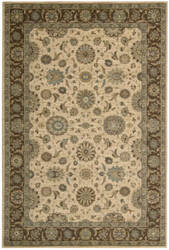 Nourison Living Treasures LI-05 Beige Area Rug