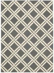 Nourison Linear Lin04 Gray Ivory Area Rug