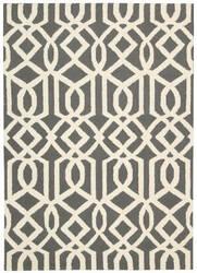 Nourison Linear Lin05 Gray Ivory Area Rug
