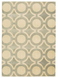 Nourison Luminance Lum01 Cream Grey Area Rug