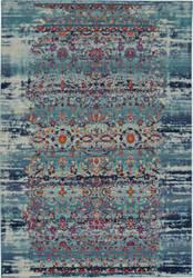Nourison Vintage Kashan Vka02 Blue Area Rug