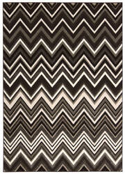Michael Amini Glistening Nights Ma503 Grey Area Rug