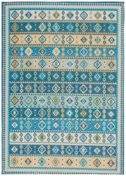 Nourison Madera Mad08 Light Blue Area Rug