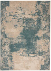 Nourison Maxell Mae13 Ivory - Teal Area Rug