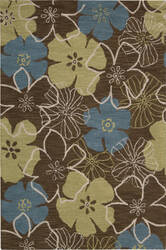 Nourison Marbella Mbl06 Light Brown Area Rug