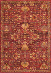 Nourison Vintage Tradition Vgt02 Brick Area Rug