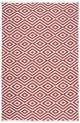Nourison Mesa Mes16 Red Area Rug