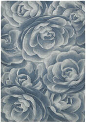 Nourison Moda MOD-06 Blue Sea Area Rug