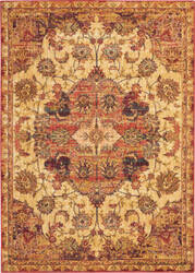 Nourison Vintage Tradition Vgt01 Cream - Red Area Rug