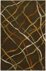 Nourison Dimensions ND-23 Brown Area Rug
