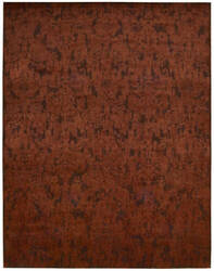 Nourison Nightfall Ngt03 Brick Area Rug